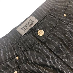 Versace Jeans Couture, Silver/Black print